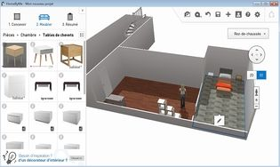 Homebyme t l charger gratuitement la derni re version for Logiciel maison 3d gratuit francais
