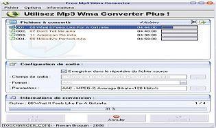 Free MP3 WMA Converter