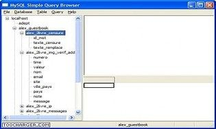MySQL Simple Query Browser