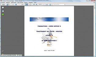 Des cours de cours publipostage avec openoffice 3 t l charger gratuitement - Open office writer telecharger ...