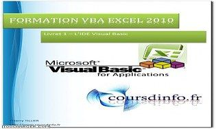 Cours VBA Excel 2010