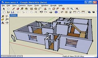 Google sketchup t l charger gratuitement la derni re version for Google sketchup maison
