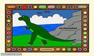 Coloring book ii dinosaurs t l charger gratuitement la derni re version - Tyrannosaure a colorier ...