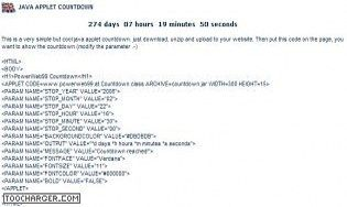 Free Simple Countdown
