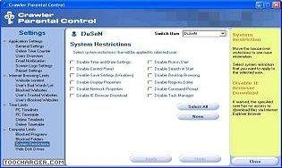 Crawler Parental Control Download | Freeware.de
