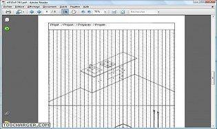 Cahier avec grilles pour dessiner en perspective isométrique