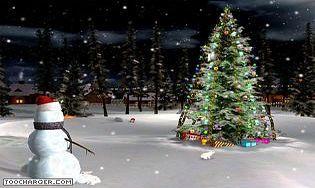 Christmas eve 3d screensaver t l charger gratuitement la for Photo ecran veille gratuit