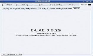 UAE Amiga Emulator