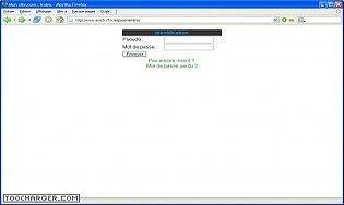 RVJ-WEB espace membres