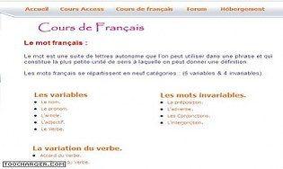 Cours de français en PowerPoint