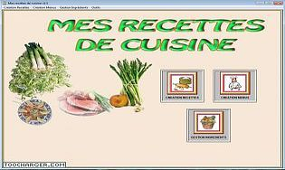Mes recettes de cuisine t l charger gratuitement la - Livres de recettes de cuisine a telecharger gratuitement ...