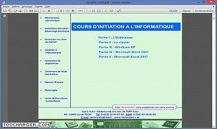 Inititation en Informatique