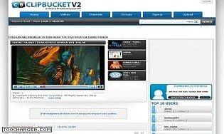 ClipBucket CMS vidéo