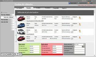Location de voiture t l charger gratuitement la derni re for Logiciel facturation garage auto gratuit