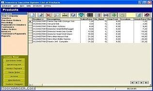 Inventory Executive System