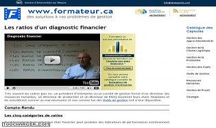 Les ratios d'un diagnostic financier