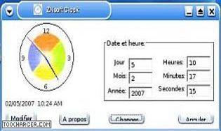 ZNsoft Clock