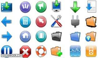 Pack icones 3d t l charger gratuitement la derni re version - Icone bureau disparu windows 7 ...