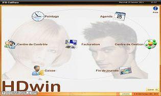 HDwin Gestion de salon et institut