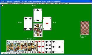 Jeu de tarot en ligne gratuit multijoueur à 4 ou 5 joueurs - sans  téléchargement, sans frais, inscription facultative. Jeu de tarot en ligne. 039a5333b5aa