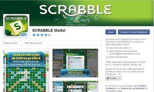 scrabble facebook t l charger gratuitement la derni re version. Black Bedroom Furniture Sets. Home Design Ideas