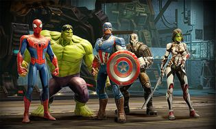 Marvel Strike Force iOS