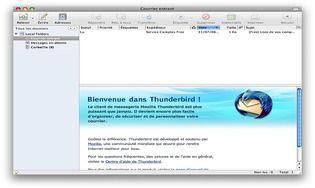 Mozilla Thunderbird pour Mac