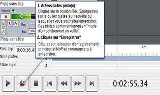 MixPad - Logiciel de mixage audio pour Mac
