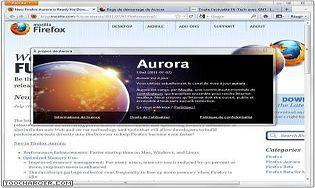 Mozilla Firefox 45 Developer Edition (Aurora)