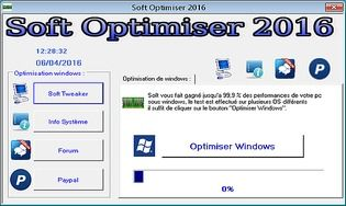 Soft Optimiser 2016