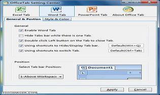 Office tab t l charger gratuitement la derni re version - Telecharger polaris office gratuitement ...