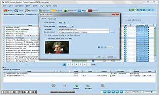 Mp3 rocket t l charger gratuitement la derni re version - Telecharger logiciel couper mp3 ...