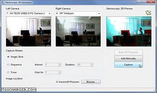 Red Cyan 3D Camera