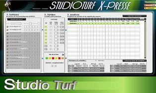 Studio Turf X-Presse