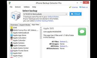 Iphone backup extractor t l charger gratuitement la - Telecharger console de recuperation windows 7 ...
