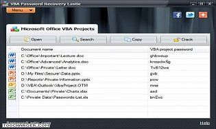 VBA Password Recovery Lastic