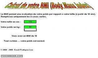 Calculez votre BMI