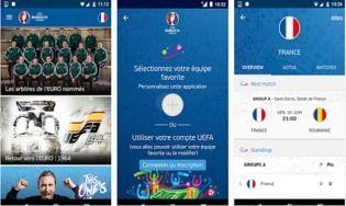 app officielle uefa euro 2016 android pour android t l charger gratuitement. Black Bedroom Furniture Sets. Home Design Ideas