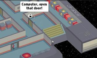 Computer, Open that door