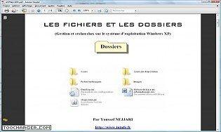 Gestion des fichiers et dossiers sous Windows.