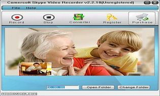 camersoft skype video recorder gratuitement