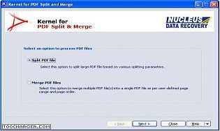 Kernel for PDF Split and Merge