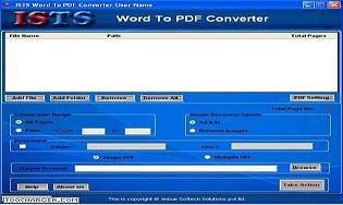 ISTS Word to PDF Converter