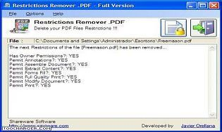 Restrictions Remover .PDF