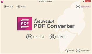 Icecream PDF Converter 2.71