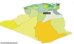 Carte de l'Algérie interactive