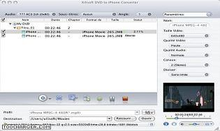 Xilisoft DVD iPhone Convertisseur Mac