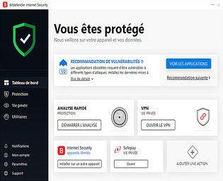 Bitdefender Internet Security 2017 Sécurité & Vie privée