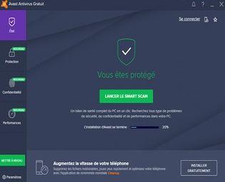 Avast Antivirus Gratuit 2019 Sécurité & Vie privée
