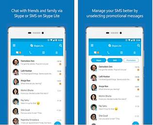 Skype Lite Android Internet